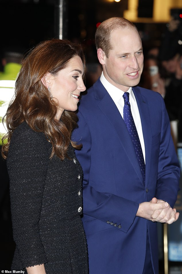 The Duke and Duchess of Cambridge looked smart for their attendance of the special performance of Dear Evan Hansen, which is being held in aid of The Royal Foundation