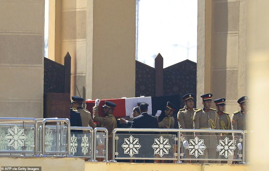 Egypt held a funeral for former dictator Hosni Mubarak on Wednesday, a day after he died in hospital in hospital from heart and kidney problems aged 91