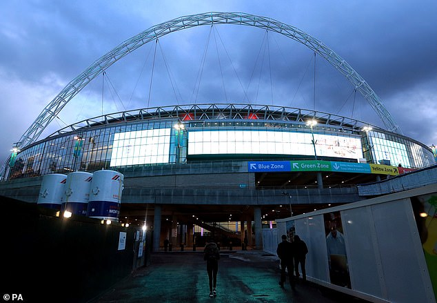 The FA will hold talks at Wembley over the coronavirus ahead of England's friendly with Italy