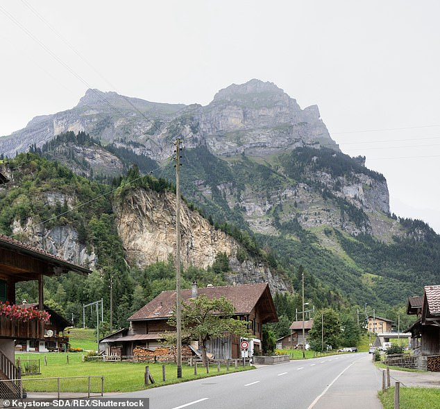 Villagers in the Swiss mountain village ofMitholz could be evacuated for a decade
