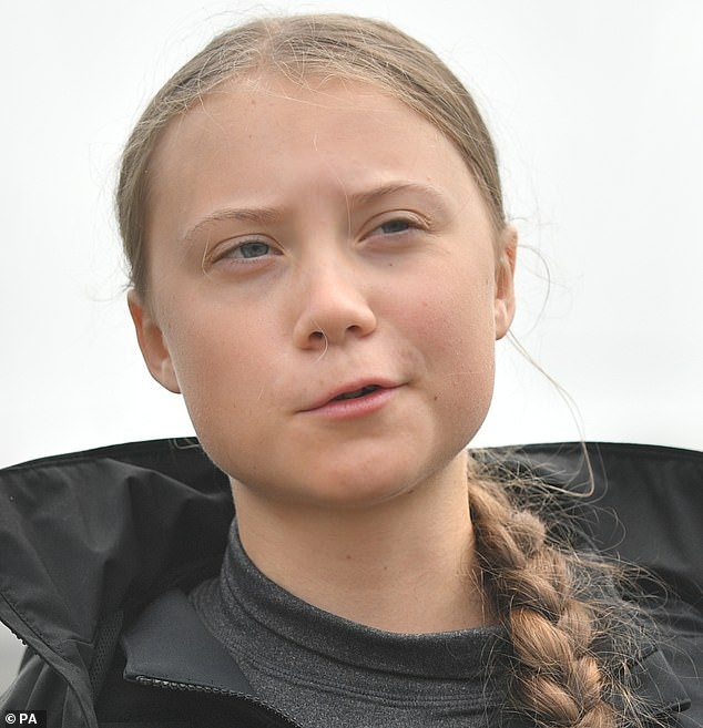 Children may not be safe at a large-scale protest to be addressed by climate change campaigner Greta Thunberg tomorrow, the authorities have warned