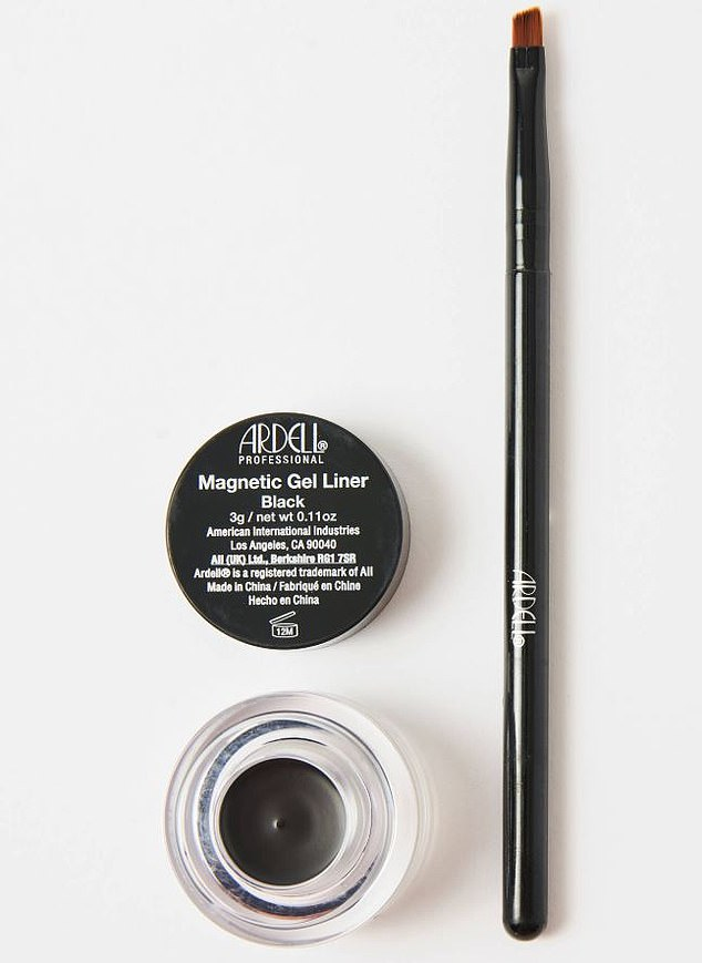 Ardell, which has been making false lashes for nearly 50 years, has brought them bang up to date with the launch of Ardell Magnetic Gel Liner (£11.99, feelunique.com)