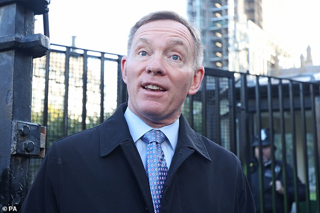 Chris Bryant said many dresses sold in Britain come from China and bridal stores 'have found it really difficult because the factories have been closed'