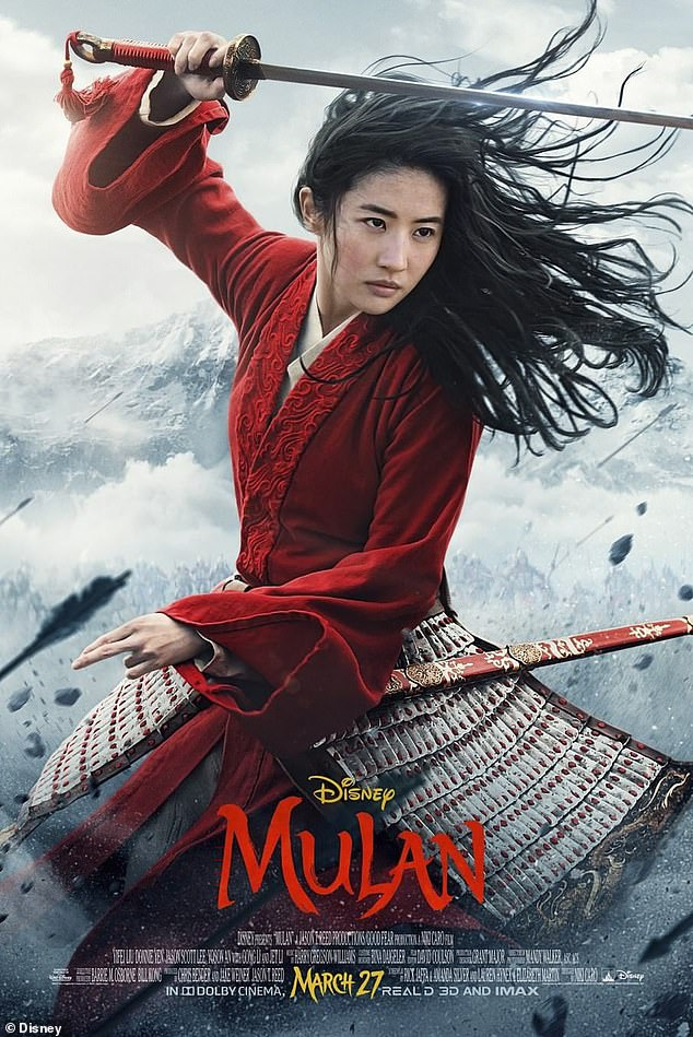 Highly-anticipated: Mulan is scheduled to be released in the US and UK on March 27, 2020