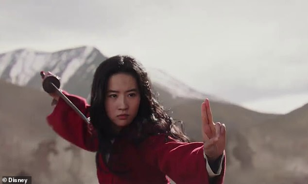 Liu Yifei, a Chinese-American actress, plays the young woman Mulan in its live-action remake