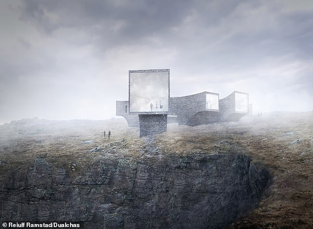 The tourist attraction has been approved to be built in Uig - more than 50 miles away from the isolated St Kilda
