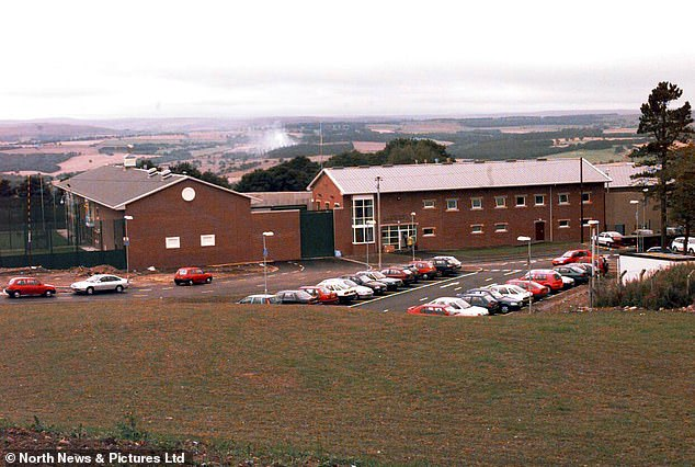 Prison officer Hugh Cockburn had given evidence against McGee's father and several other former warders over the alleged abuse of inmates at Medomsley Detention Centre, pictured