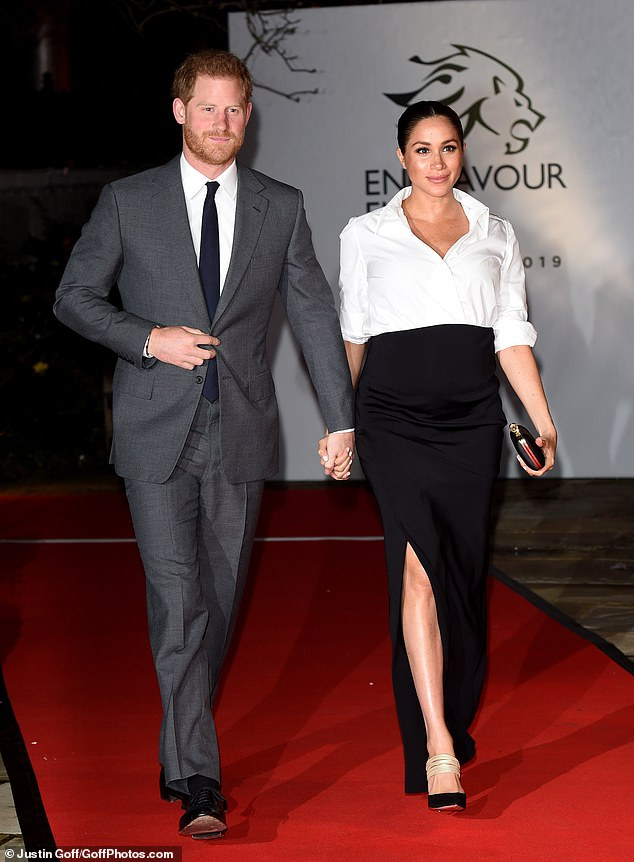 The engagement will be the first in three joint engagements the couple will undertake in early March, before they officially step down as senior royals. They are seen at theEndeavour Fund Awards Ceremony last year.