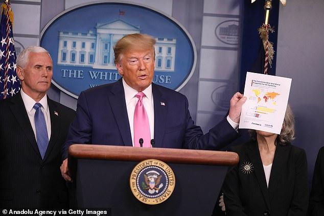 President Donald Trump designated Vice President Mike Pence to lead the effort coronavirus response
