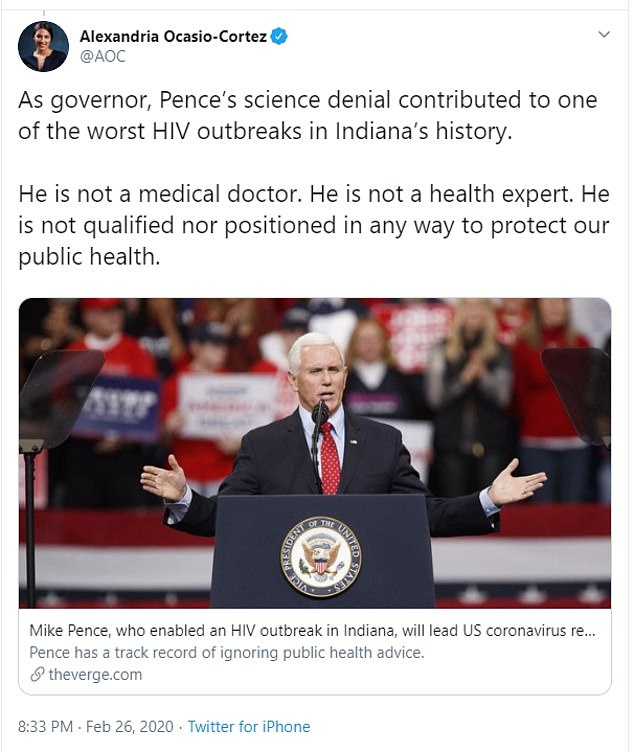 Democrats attacked Pence for contributing to an HIV outbreak due to his resistance to needle exchange program