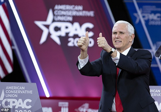 Government health experts need to run media appearances by the Vice President's office in a new effort to gain control of the narrative. His first public appearance however was at the CPAC conference of Trump ultra-loyalists