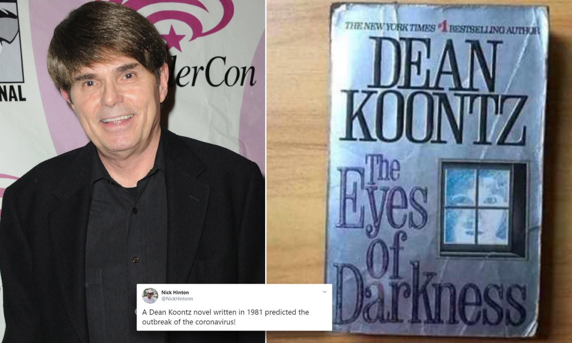 Did 1981 Dean Koontz thriller The Eyes Of Darkness predict the ...