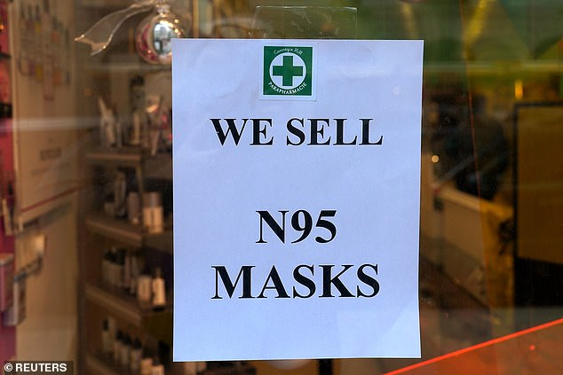 Health and Human Services (HHS) Secretary Alex Azar told lawmakers this week that the US needs a stockpile of about 300 million N95 face masks to combat the spread of the virus.The US currently has only around 12 million masks - a fraction of the volume needed, Azar warned