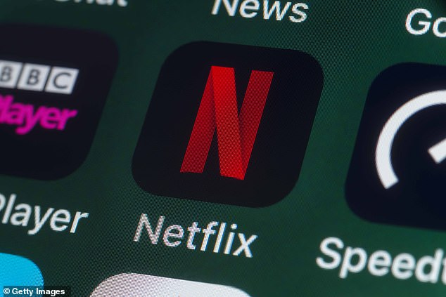 Viewers aged 16 to 24 are devoting just 38 minutes a day to the major broadcasters in favour of Netflix and Amazon Prime (file picture)