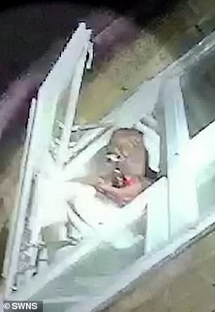 Terrifying bodycam footage shows Fatunbi firing at police as they tried to enter his flat
