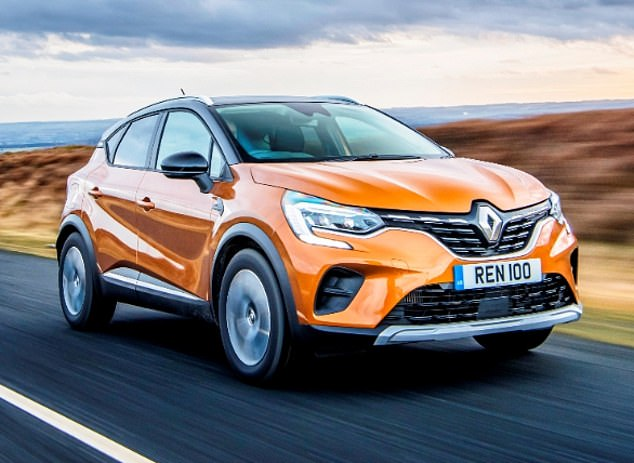 High on style: The less powerful of the new Renault Capturs tested came out ahead