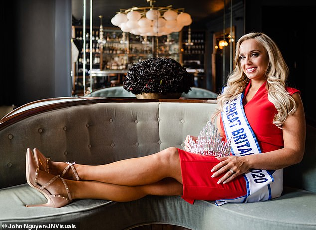 Although she wouldn't be the first beauty queen to do so, the 26-year-old from Grimsby, Lincolnshire, was neither being coquettish nor displaying false modesty. This was not just about winning a beauty contest. Far from it. If anything, this was a life contest and the only competition was with herself