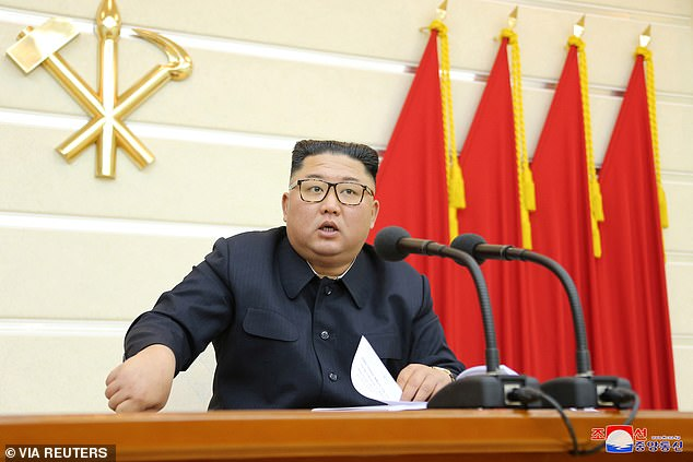 Kim emphasized that all fields and units of the country should 'unconditionally' obey quarantine instructions laid-out by the anti-epidemic headquarters