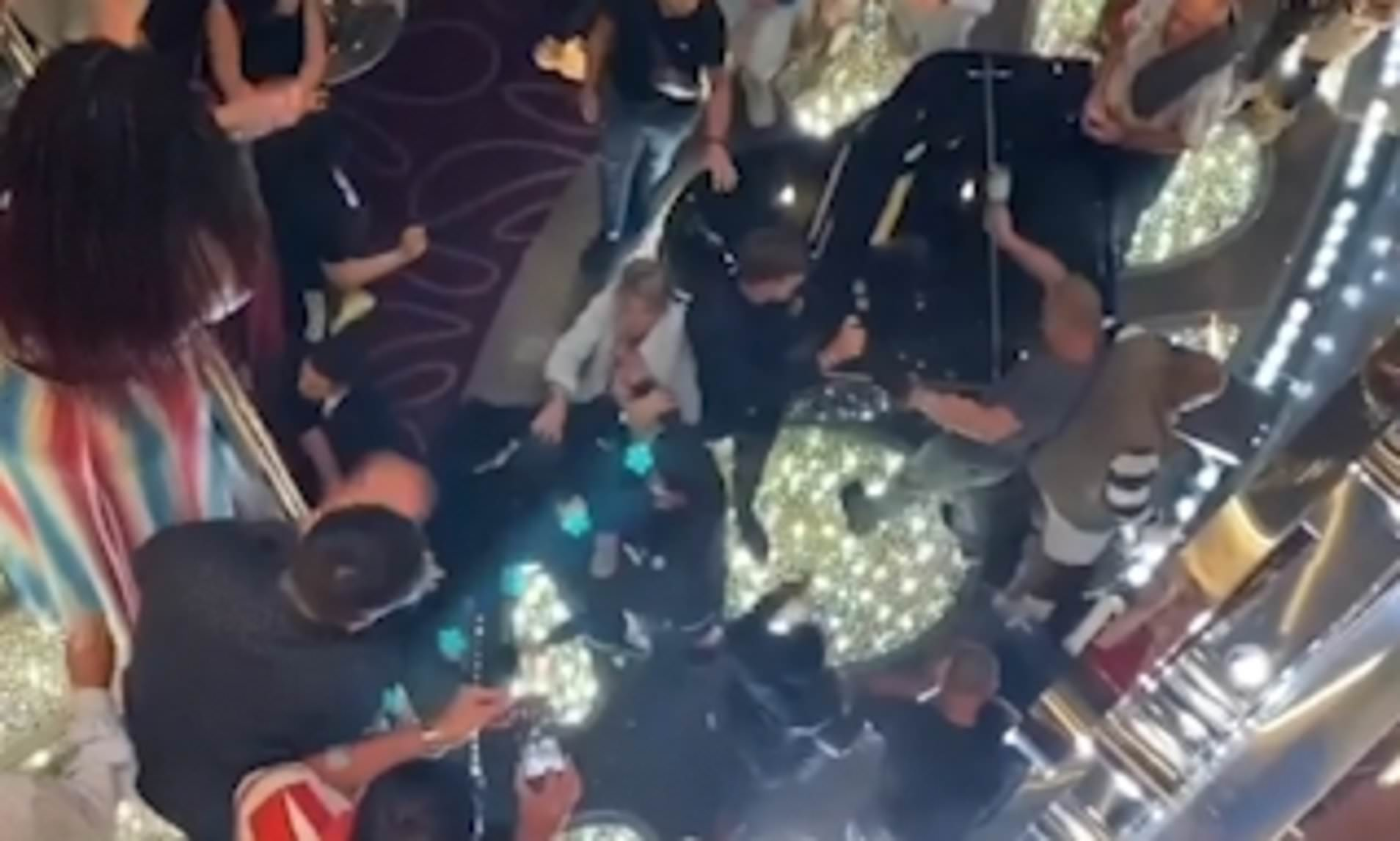 Cruise ship crew pepper spray brawling passengers over feared ...