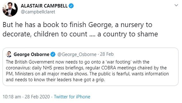 It seems Alastair Campbell had an early heads up about the Prime Minister's baby