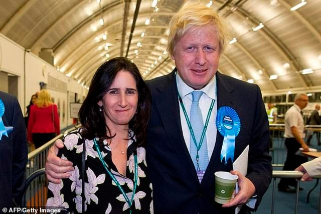 Mr Johnson, who has been married twice previously, recently finalised his divorce with estranged wife Marina Wheeler, with whom he has two daughters and two sons