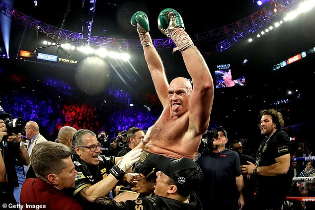 The Gypsy King was crowned WBC heavyweight champion after beating Deontay Wilder