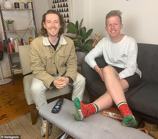 Goodbye: The two men had ten seasons on Gogglebox Australia. They chose not to return for season 11 of the hit reality series, which aired last year