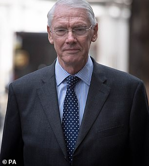 Pictured: Sir Martin Moore-Bick