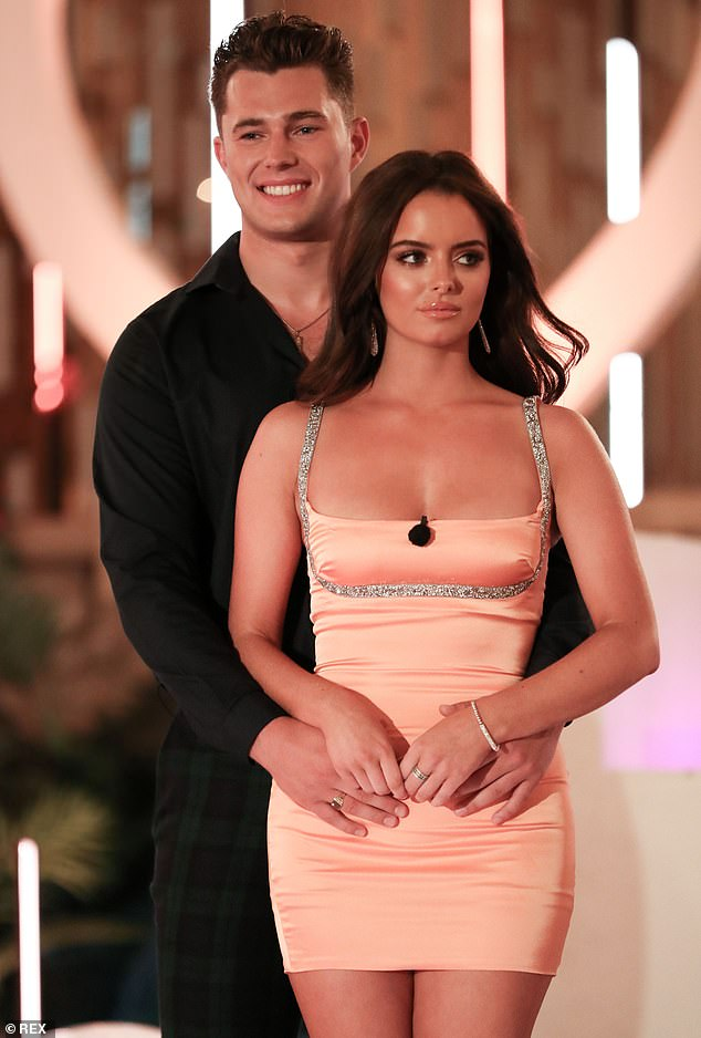 EXCLUSIVE: Love Island's Maura Higgins, 29, and Curtis Pritchard, 24, have SPLITafter just eight months of dating