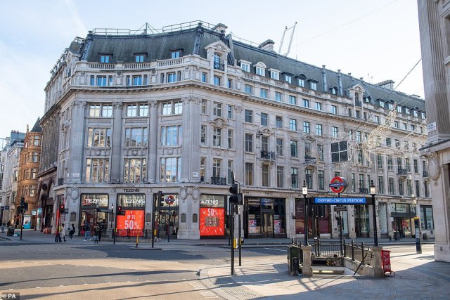 Mr Mok had been walking along Oxford Street (pictured above) when he was set upon