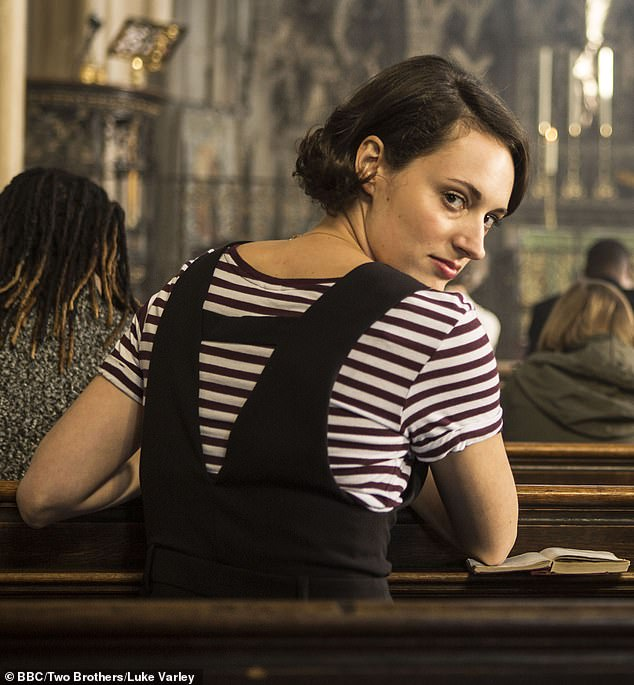 The noms are in: Fleabag [pictured] and Chernobyl lead the nominations for the Royal Television Society Programme Awards 2020, each with three nods