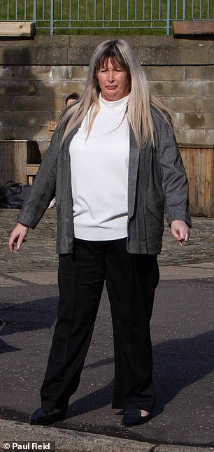 Mr Innes also boasted to friends that Kirkcaldy-born Bayford (pictured) was his 'pension fund', Dundee Sheriff Court was told