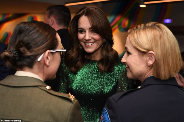 Kate and William mingled with guests at the Guinness Storehouse in Dublin this evening. They met with a range of people from the creative arts, sport, business and charity sectors