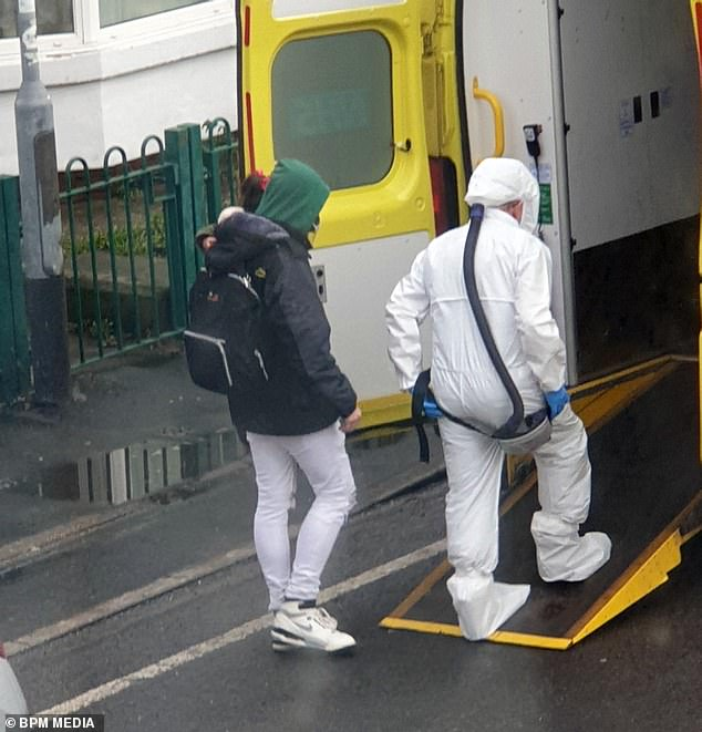 A family were been evacuated from a home in Hull by medics wearing hazmat suits, in the latest coronavirus scare