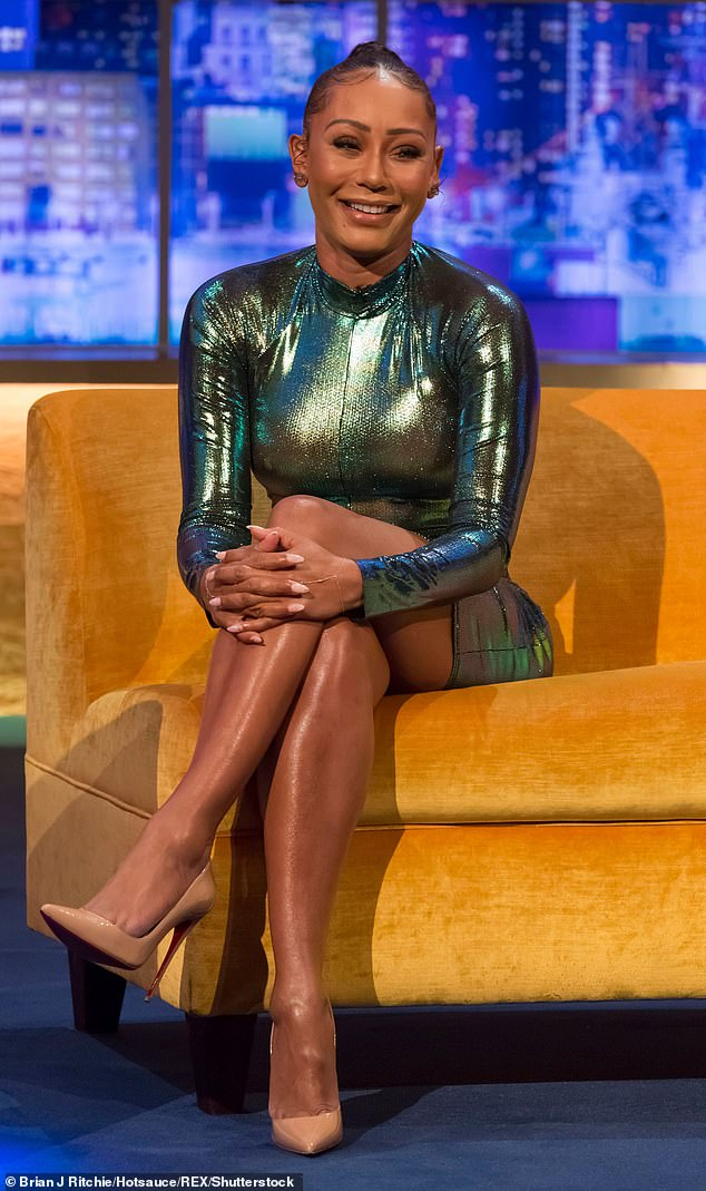 Aside: The Spice Girl lives in Britain after stepping down as judge on America's Got Talent last year.  Madison lives in LA with her father.  The exes currently share custody