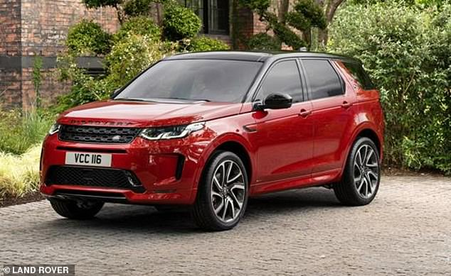 Pictured: Land Rover Discovery Sport D150. The new Land Rover was also given a 'superior' rating