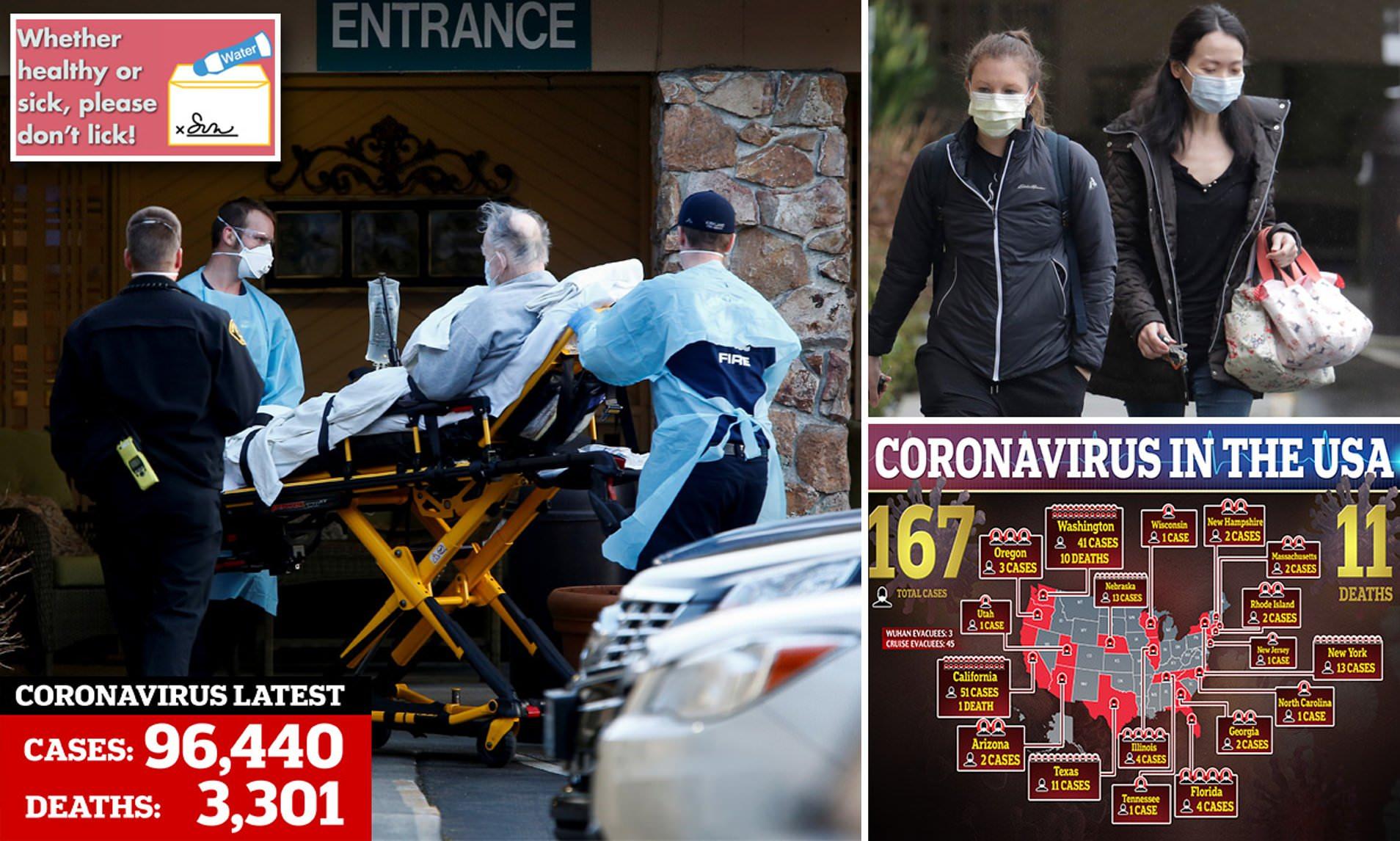 Washington county with 31 coronavirus patients advises ALL ...