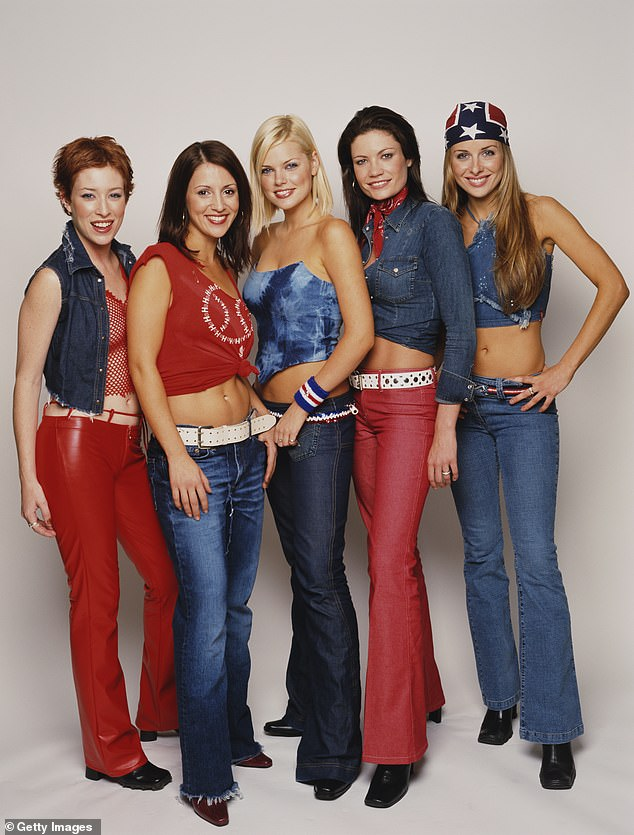 Over it! Daily Mail Australia can reveal Sophie wants 'absolutely no involvement' with fellow members as they prepare to tour. Pictured from left: Katie Underwood, Sally Polihronas, Sophie Monk, Tiffani Wood and Belinda Chapple