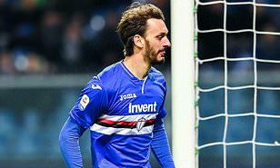 Sampdoria forward Gabbiadini tests positive for Coronavirus
