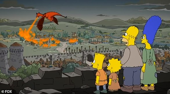 Winter came early: The Simpsons foretold the fate of King's Landing in 2017