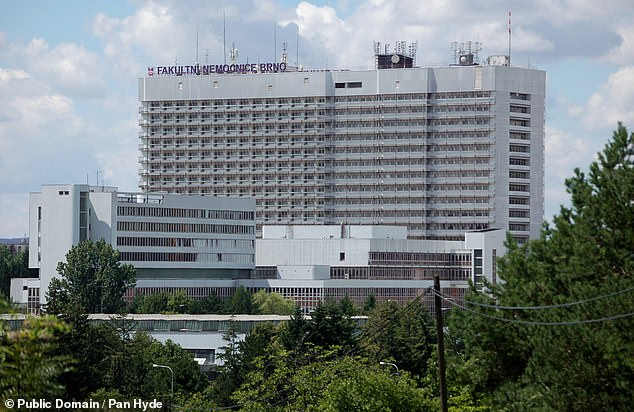 The University Hospital Brno in the South Moravian region has been brought to a standstill