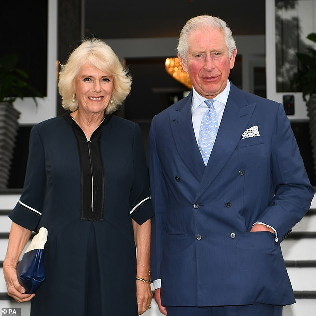 The Duke and Duchess of Cornwall (to be seen in Auckland last November) should visit the Republic of Cyprus next month. But her visit has now been canceled