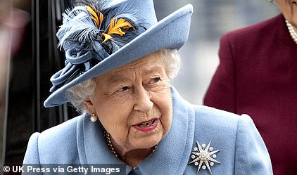 The Queen attends the Commonwealth Day service this month