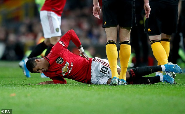 Marcus Rashford has been knocked out since January with a back problem, but now he may be able to get back in shape without losing any more games.