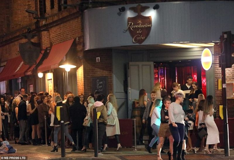 Pubs in Leeds were crowded on Saturday night while other parts of Europe imposed a lock down on its public spaces