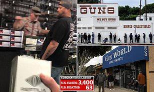 Coronavirus US: People are panic-buying GUNS amid panic | Daily ...