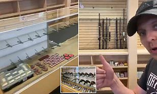 Las Vegas gun store runs out of weapons and ammo after panic ...
