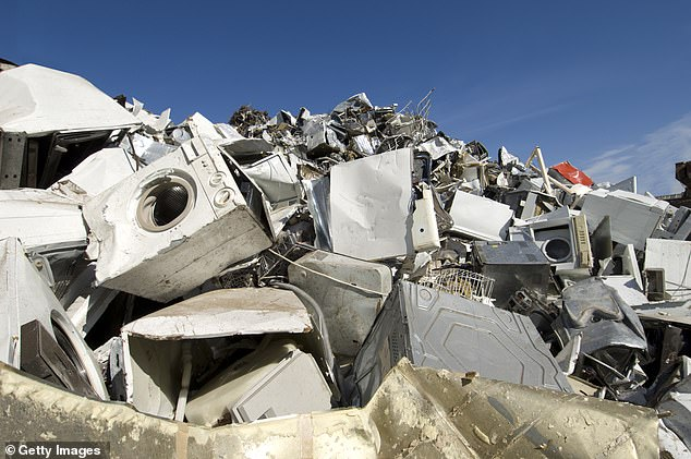 While many consumers have moved on to greener and more energy efficient appliances and construction materials, the discarded equipment from before the ban continue to emit large amounts of CFCs (chlorofluorocarbons) from the junkyard