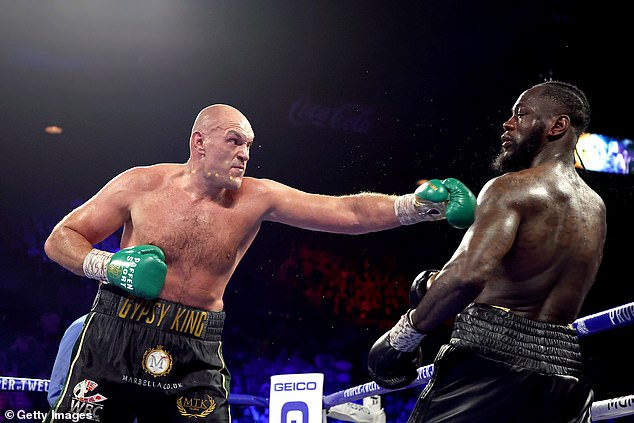 Fury was back on top of the world after his victory at Wilder, but could now face an eight-year ban