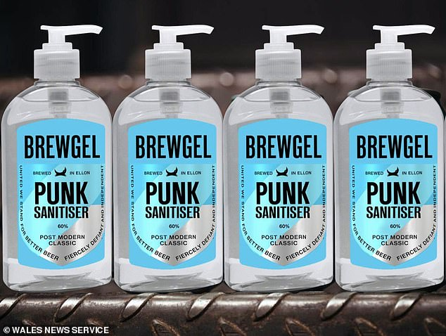 Beer company BrewDog has started making alcohol hand gel at its distillery in Scotland to help people stay safe during the coronavirus pandemic. 'Say hello to Punk Sanitiser … It's time to keep it clean,' the firm wrote on Instagram
